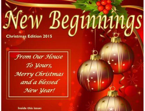 Christmas Newsletter 2015