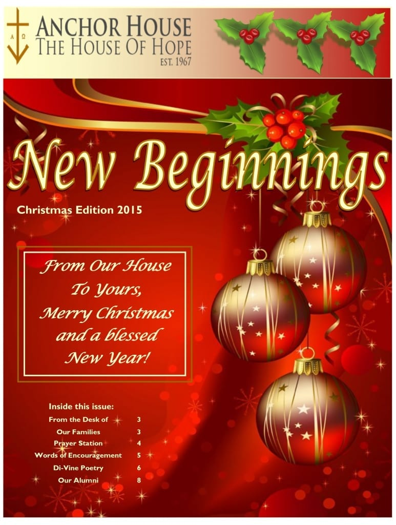 Christmas Newsletter
