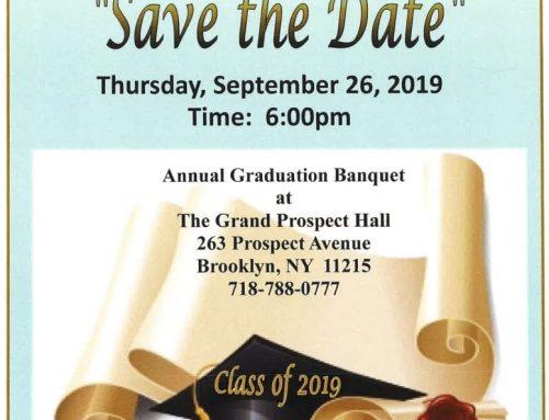 Annual Graduation Banquet 2019